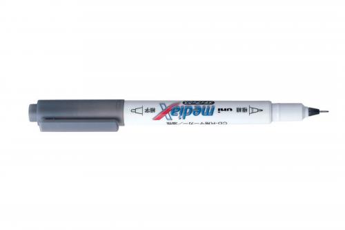UNI MediaX marker grey
