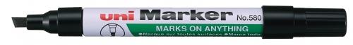 Μαρκαδόρος UNI-MARKER ανεξίτηλος μαύρος Ν.580