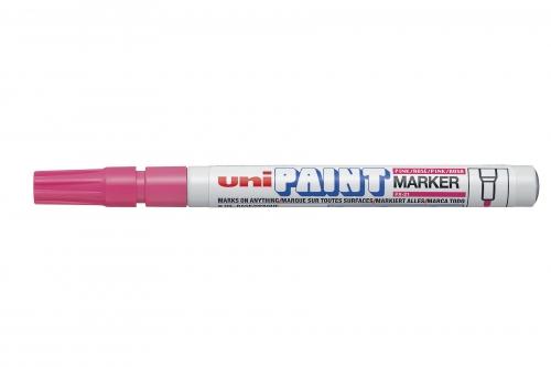 UNI PAINT μαρκαδορος ροζ