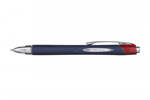 Jet stream uni ball κόκκινο στυλό 0.7