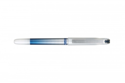 uni-ball dark blue stilo rollerball