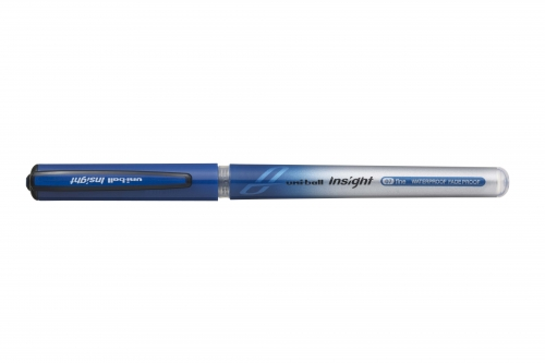 uni-ball insight αδιάβροχο μπλε