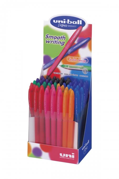 κουτί UNI-BALL SIGNO χρωματιστά