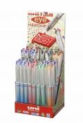 κουτι UNI-BALL needle point στυλο πρασινο κοκκινο μαυρο μπλε