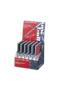 κουτι Uniball micro στυλο μπλε κοκκινο μαυρο