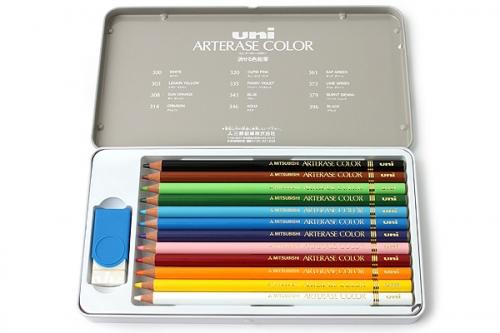 UNI ARTERASE χρωματιστά μολύβια